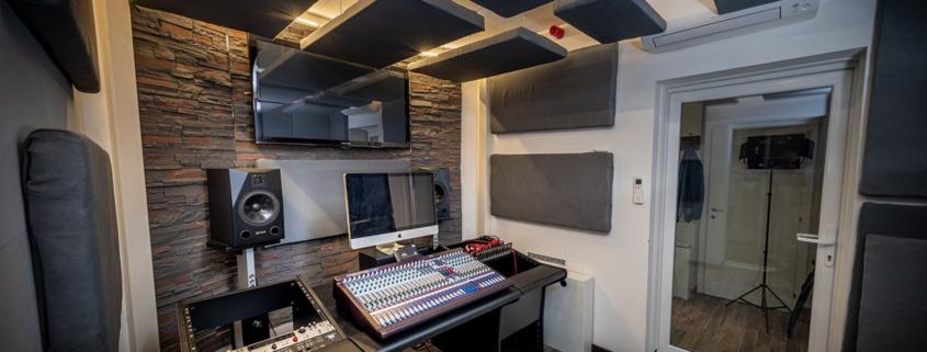 Barbabietola, studio di registrazione a Milano