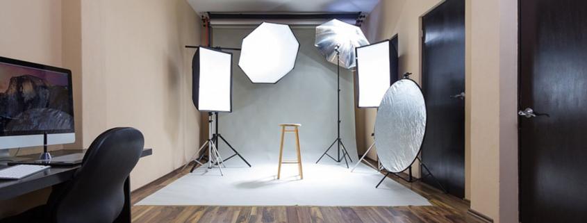 come allestire uno studio fotografico