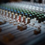 attrezzatura di uno studio di registrazione